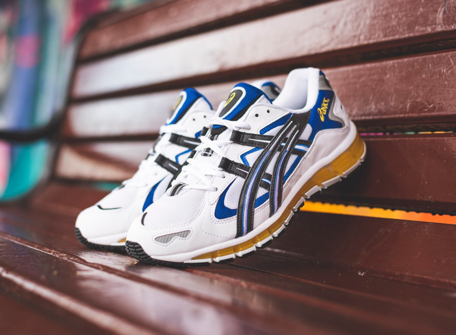 Asics Gel Kayano 5 360 OG White Black Yellow Blue (1)