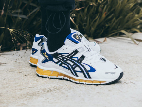 Asics Gel Kayano 5 360 OG White Black Yellow Blue (3)