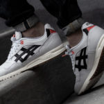 Asics Gel Saga White Black