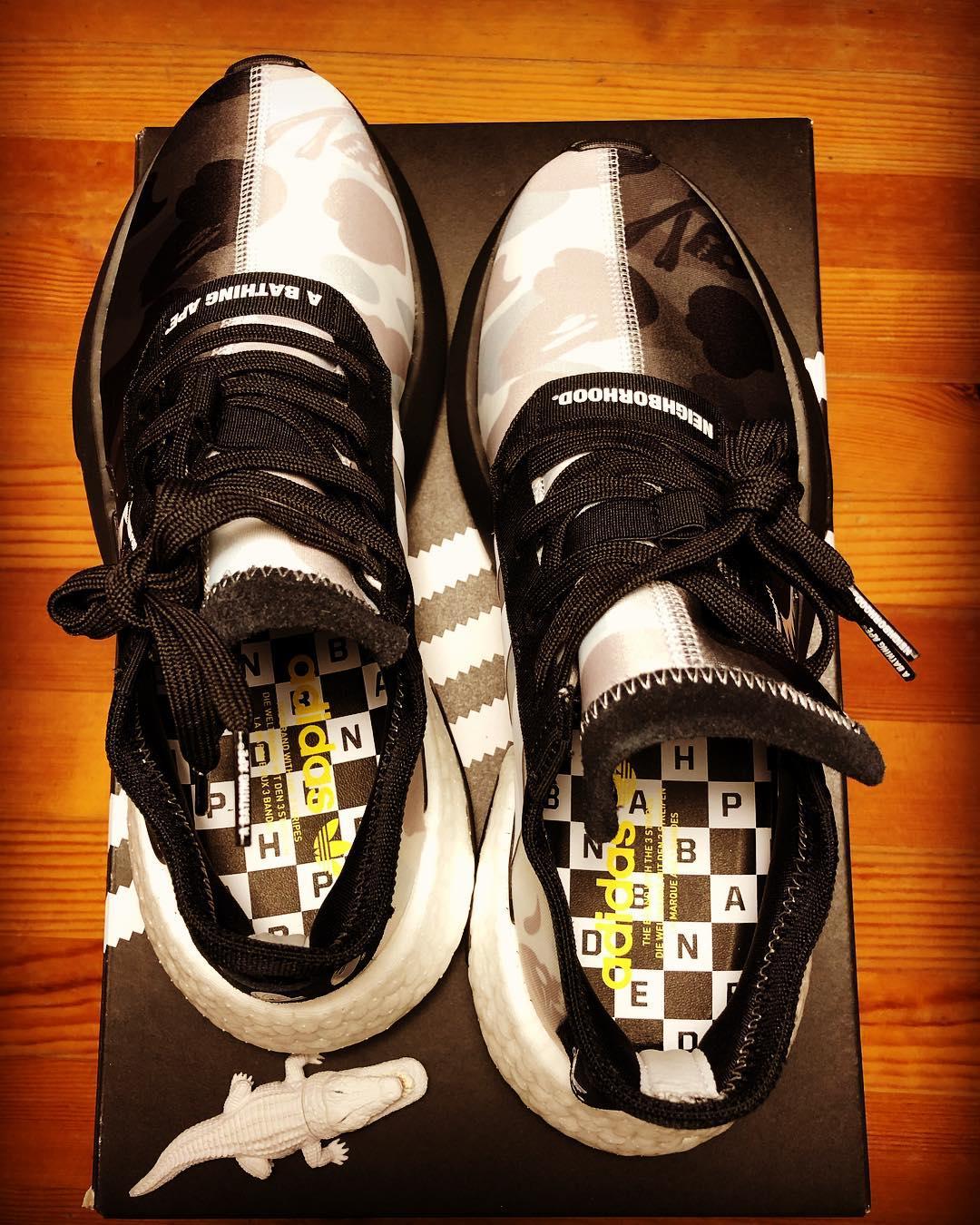 BAPE x Neighborhood x Adidas Pod S3.1 'Core Black' (1)