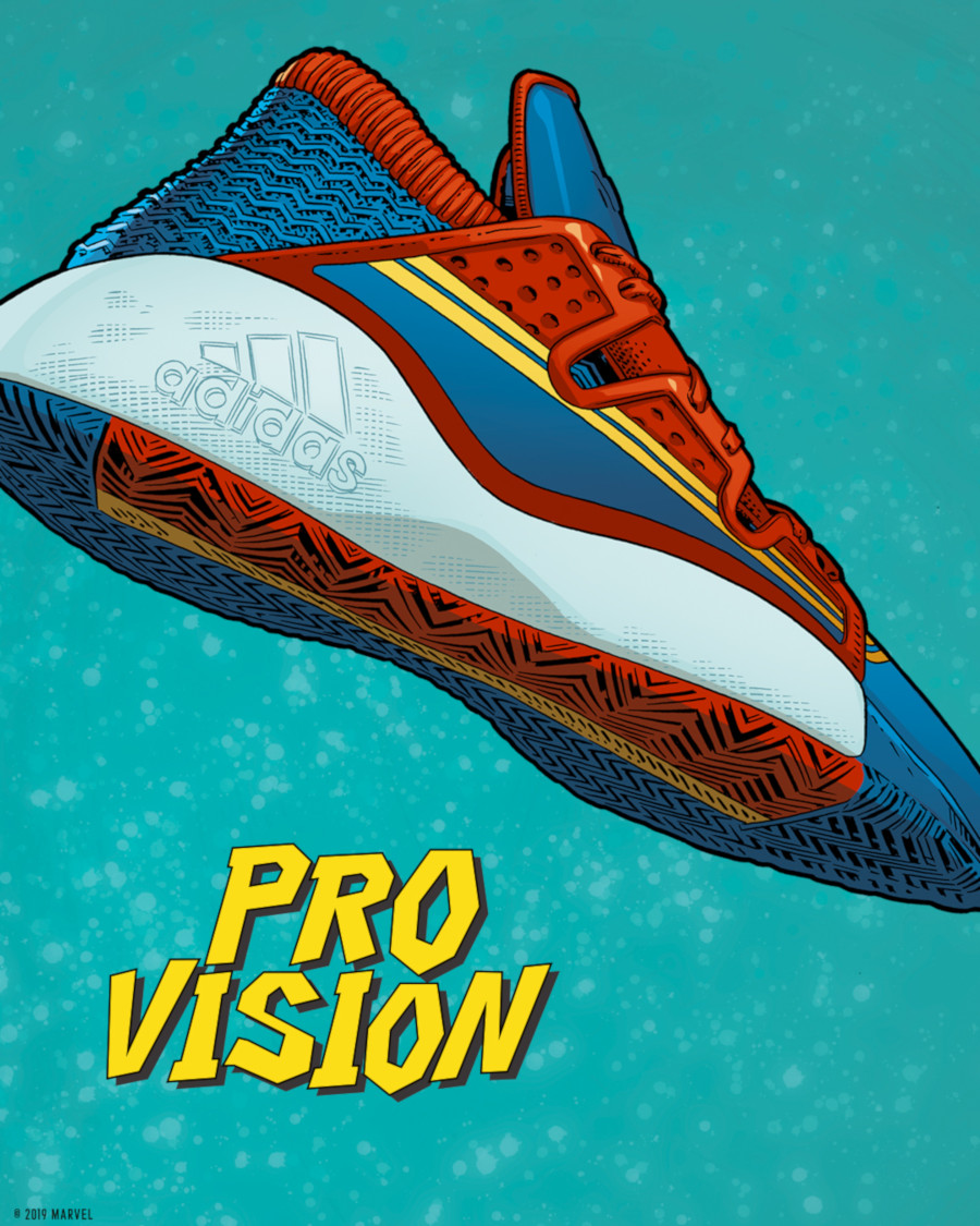 Adidas Pro Vision Captain Marvel (1)