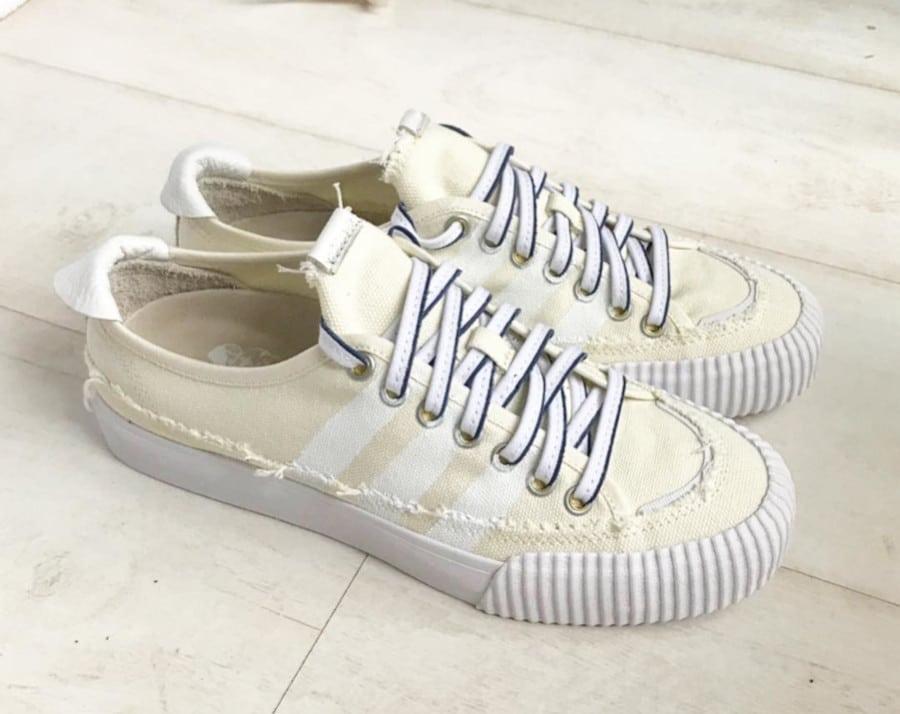 Donald Glover x Adidas Nizza Lo couleur crème (2)