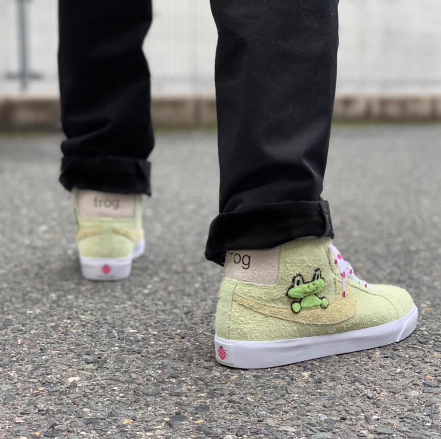 Frogskates x Nike SB Blazer - @sny0205