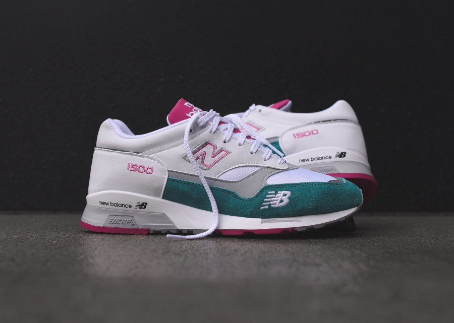 New Balance M 1500 WTP White Teal Pink (made in England) (5)
