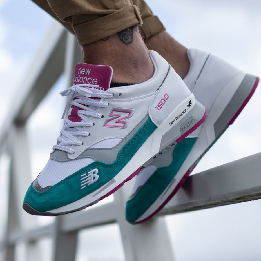 New Balance M 1500 WTP White Teal Pink (made in England) (7)