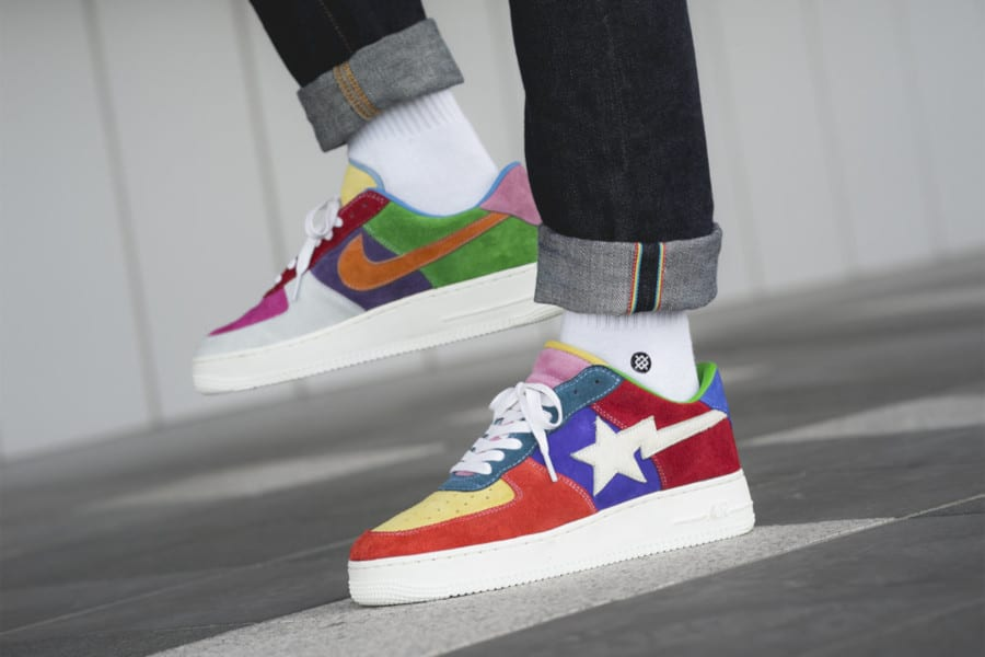 Nike Air Force 1 What the Swoosh (2)