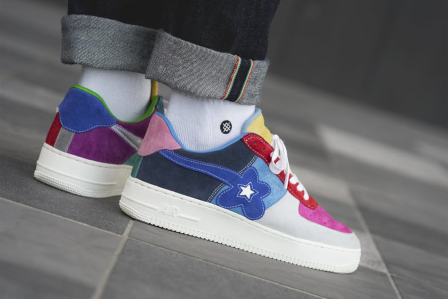 Nike Air Force 1 What the Swoosh (5)