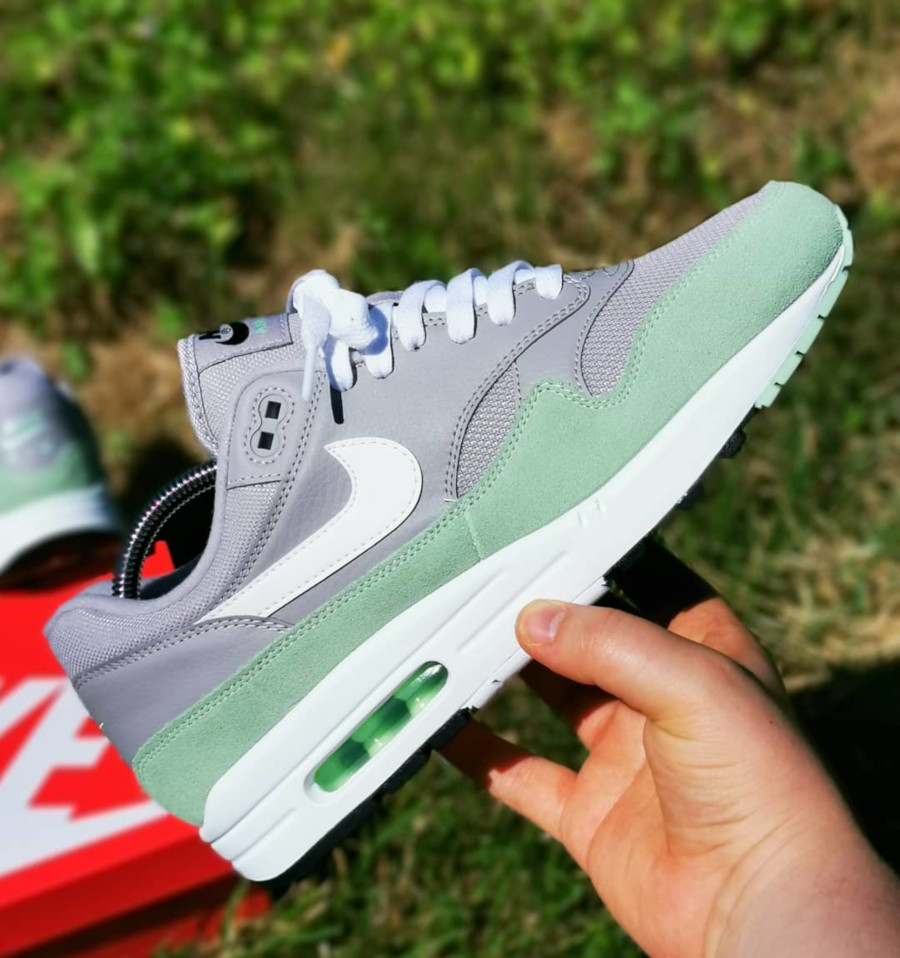 Nike Air Max 1 Grey Fresh Mint AH8145-015 (1)