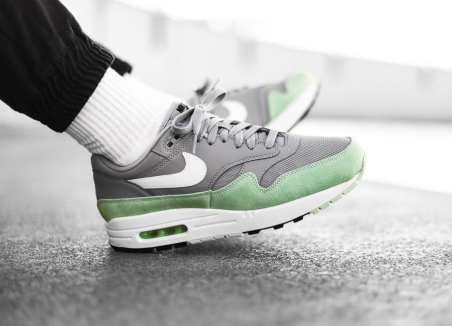 Nike Air Max 1 Grey Fresh Mint AH8145-015