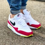 Nike Air Max 1 Rush Pink Volt White Black