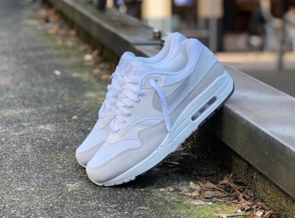 Nike Air Max 1 White Pure Platinum 2019