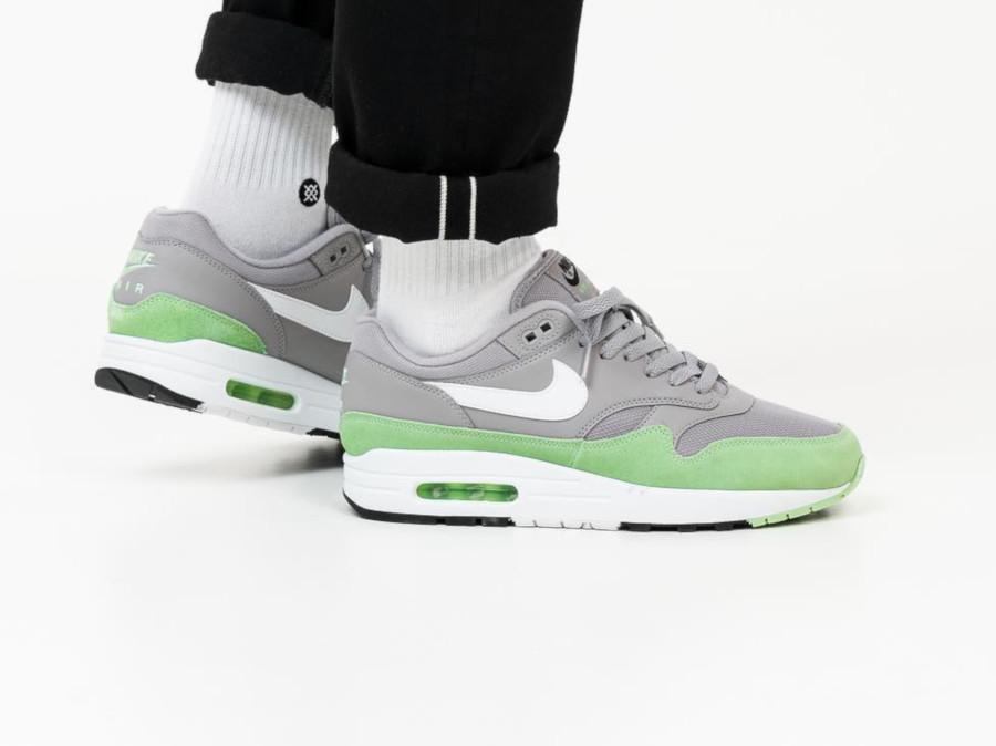 Nike Air Max 1 grise et vert menthe (3-2)