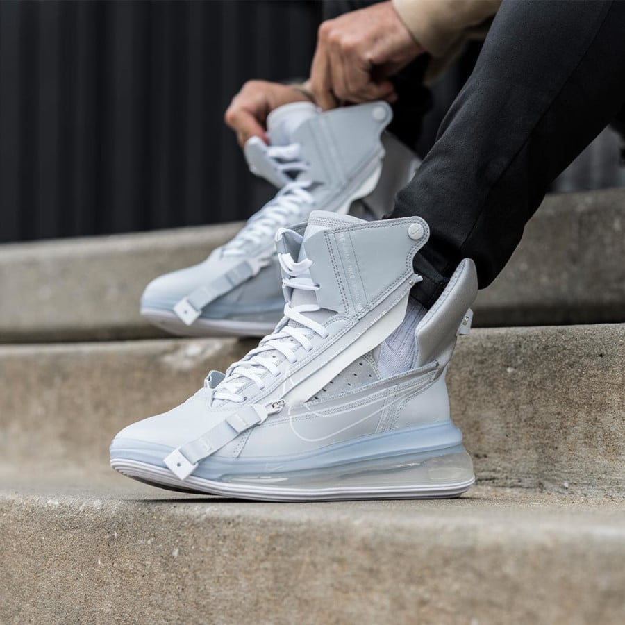 Nike Air Max 720 Saturn White Pure Platinum (1-1)