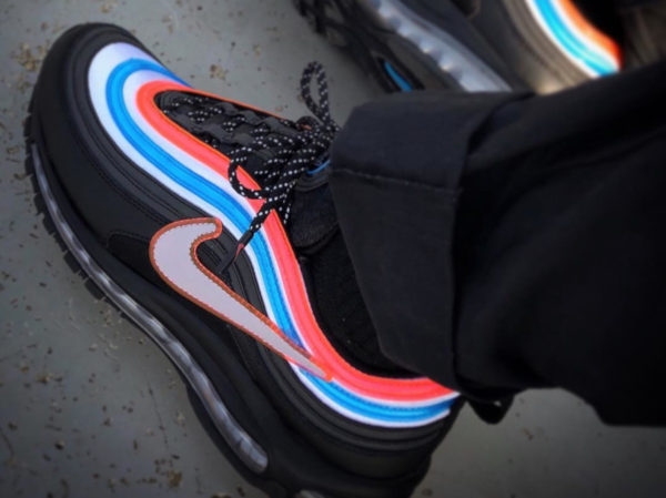 2019 Nike Air Max 97 Throwback Future Chaussures de course Designer Royal Neon Seoul Sneakers Sport Triple Black White Have a Day Hommes Femmes