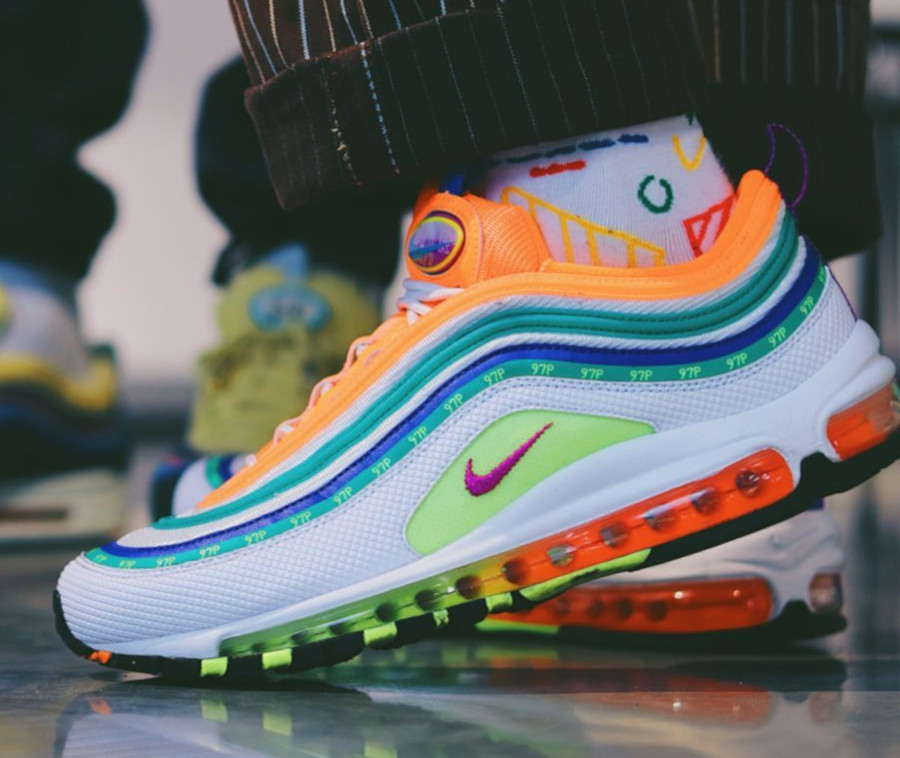 Nike Air Max 97 Summer of Love by Jasmine Lasode