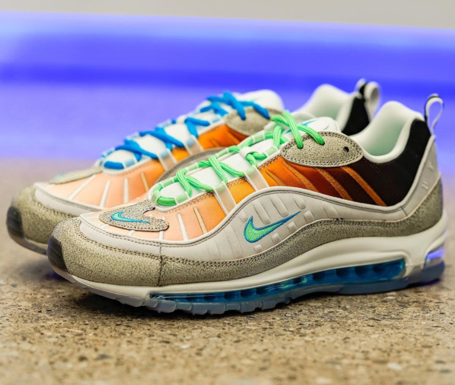 2018 shoes the best incredible prices Faut-il acheter la Nike Air Max 98 On Air NYC La Mezcla ...