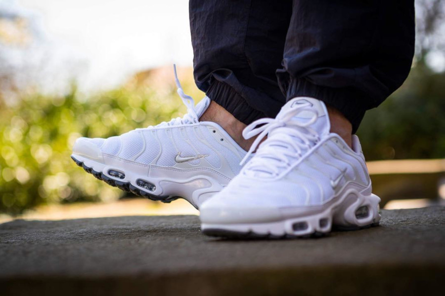 Nike Air Max Plus Requin TN 2019 en mesh blanc (1)