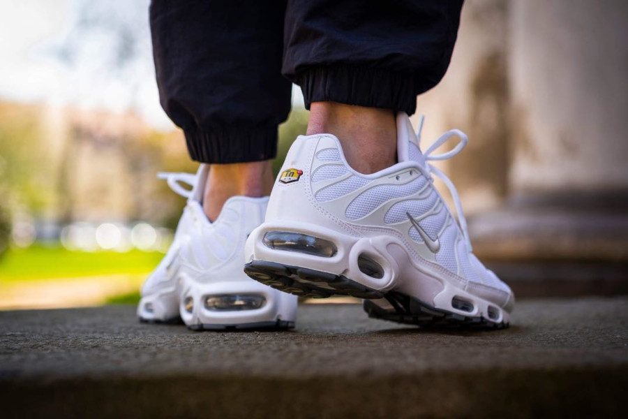 Nike Air Max Plus Requin TN 2019 en mesh blanc (3)