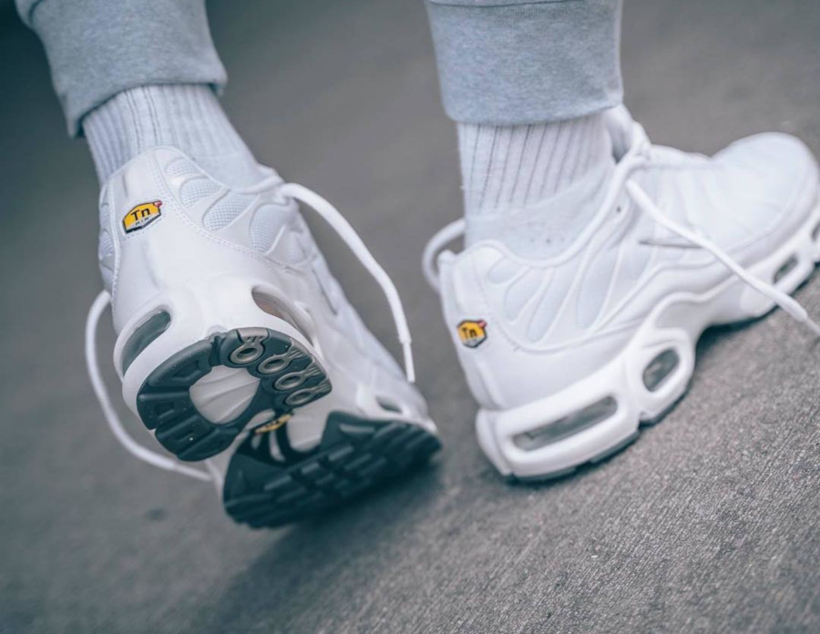 Nike Air Max Plus Requin TN 2019 en mesh blanc (4)