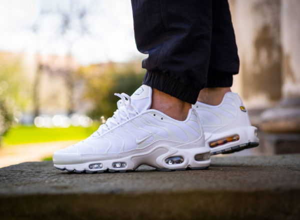 Nike Air Max Plus blanche Triple White 604133-139