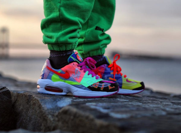 hot sale online 43196 8b75f Nike Air Max2 Light QS Atmos Multicolor BV7406-001 (2)