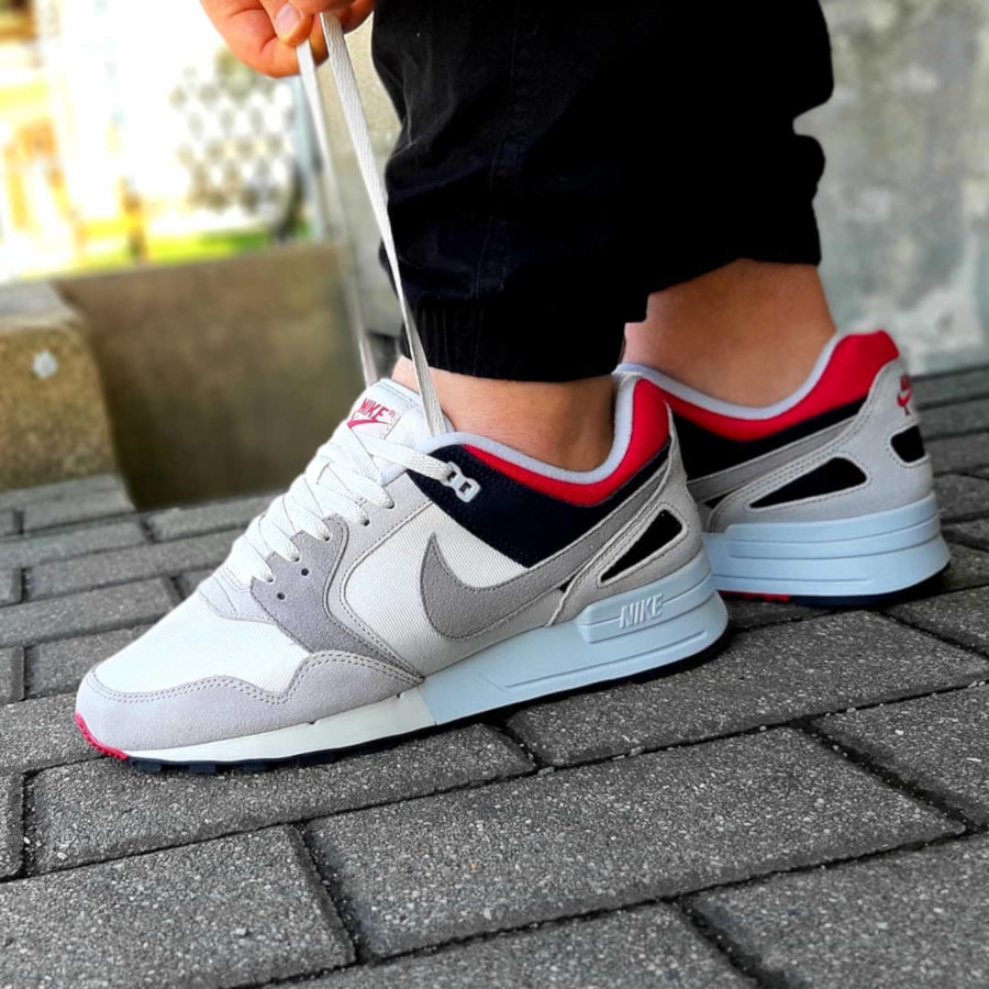 Nike Air Pegasus '89 SE Swan Medium Grey Rose Coral Black