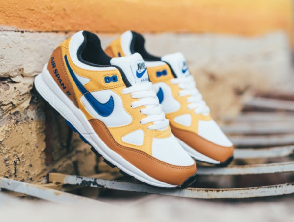 detailed look 065dd 7d6ec Nike Air Span II  Curry  Yellow Ochre AH8047-700