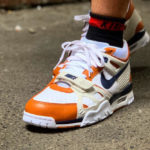 Nike Air Trainer 3 QS White Navy Ginger 'Medicine Ball' 2019
