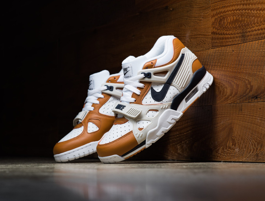 Nike Air Trainer III Midnight Navy Ginger Light Bone (3)