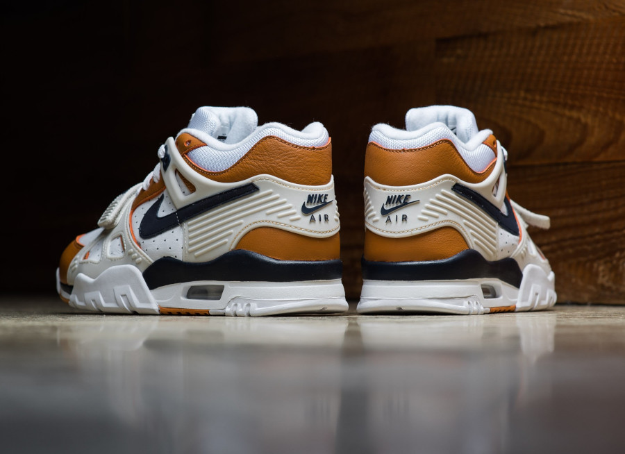 Nike Air Trainer III Midnight Navy Ginger Light Bone (4)