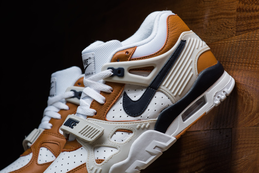 Nike Air Trainer III Midnight Navy Ginger Light Bone (5)