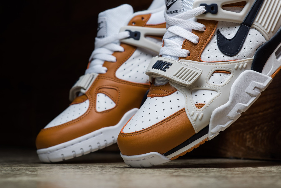 Nike Air Trainer III Midnight Navy Ginger Light Bone (6)
