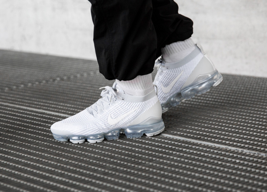 Nike Air Vapormax Flyknit 3.0 White Pure Platinum