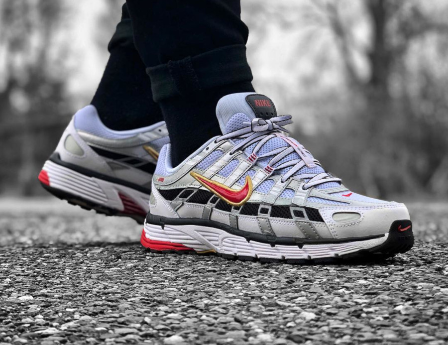 Nike P-6000 Metallic Silver - @kkarmiggelt