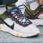 Nike React Element 87 'Moss Black El Dorado'