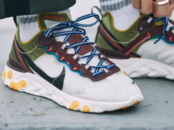 Nike React Element 87 Moss AQ1090-300 (couv)