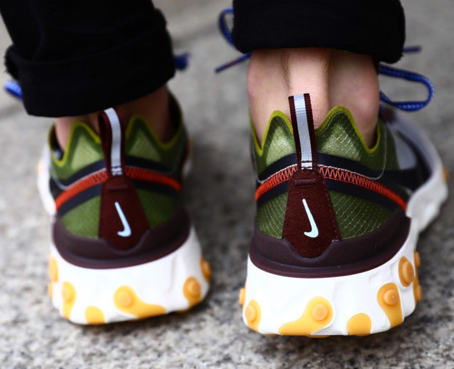 Nike React Element 87 Moss Black El Dorado (1)