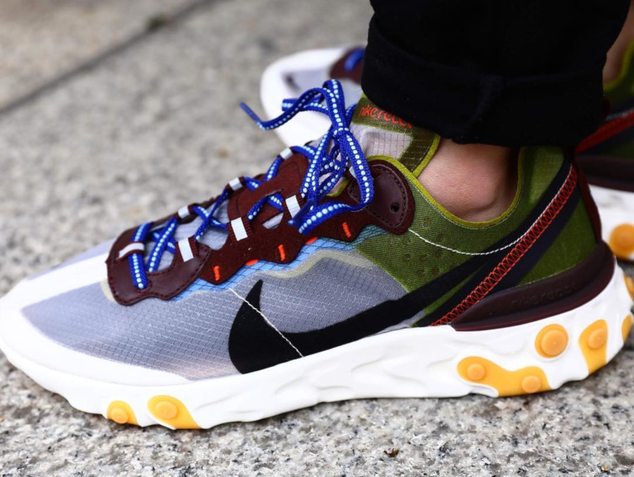 Nike React Element 87 Moss Black El Dorado (2)