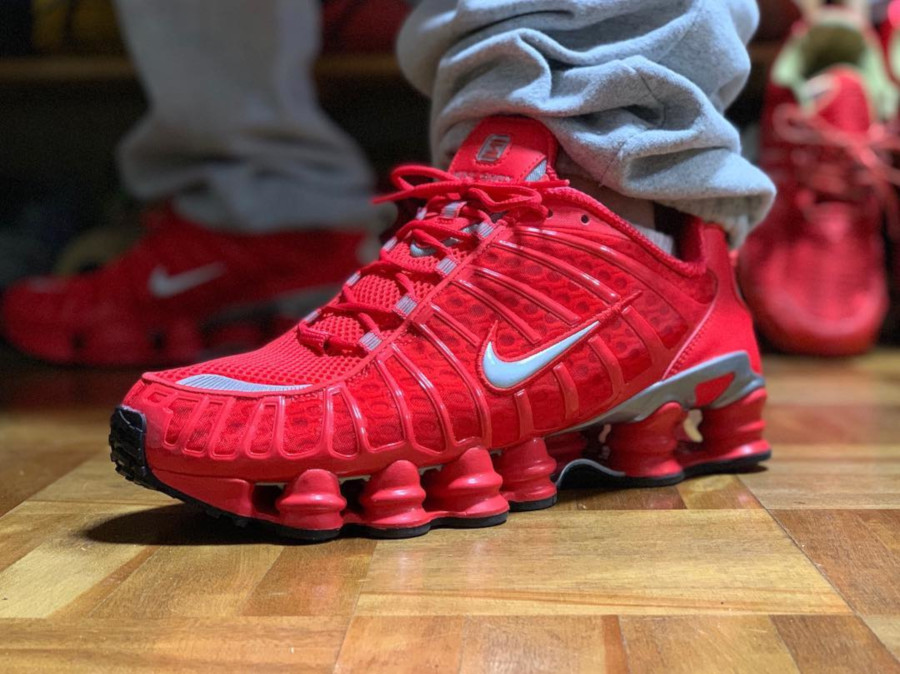 Nike Shox TL Speed Red - @funexenuf