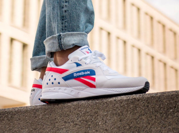 Reebok Pyro 2019 'White Neon Red Crushed Cobalt'