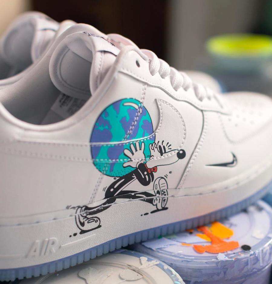 Steve Harrington x Nike Air Force 1 Low QS Earth Day (1)