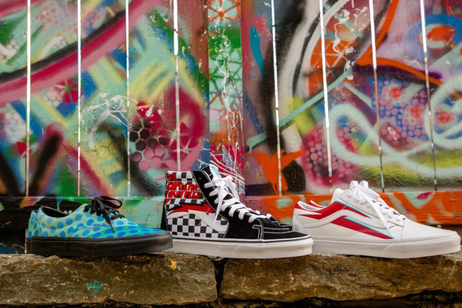 La collection David Bowie x Vans 'Stars Are Never Far Away'