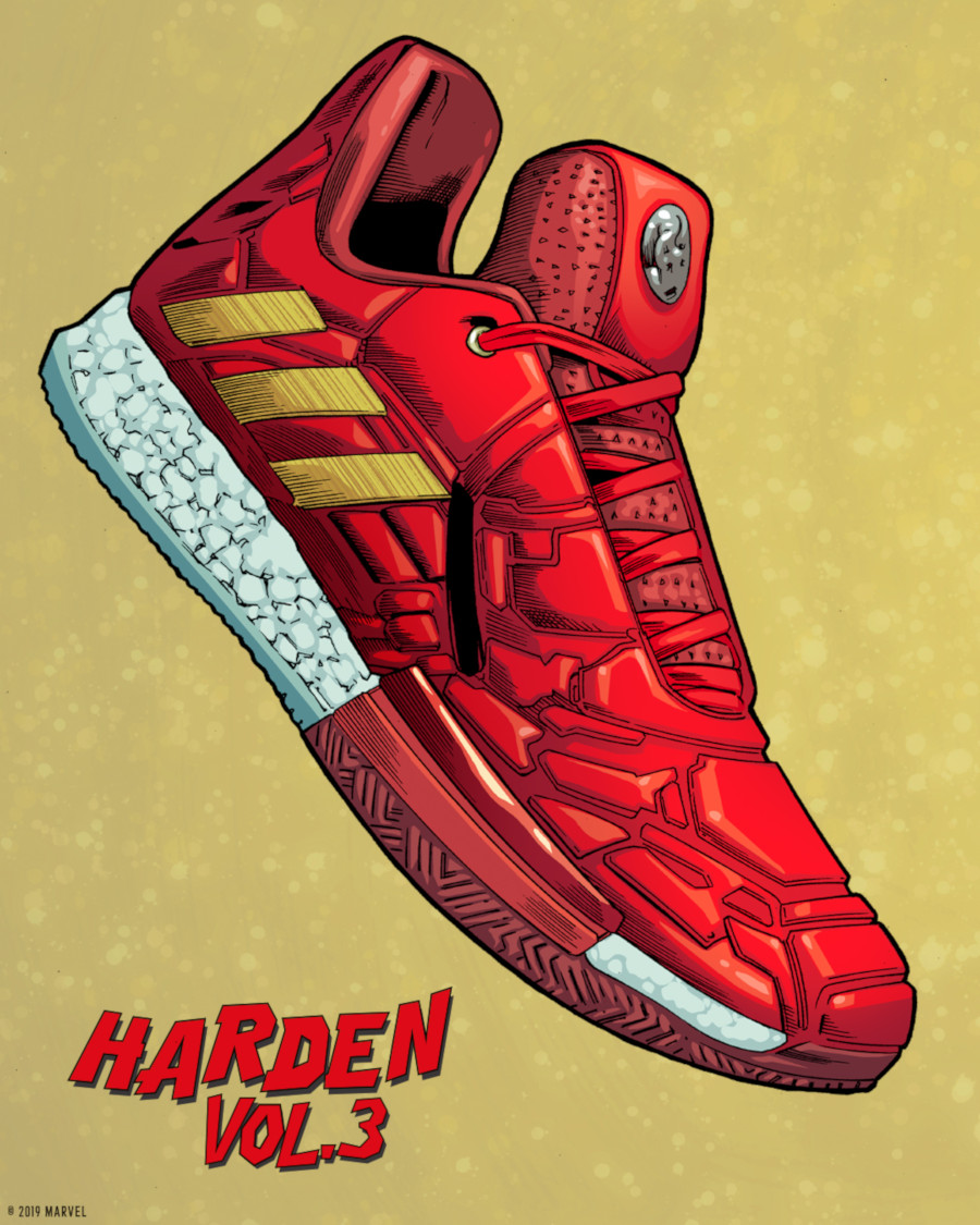 adidas Harden Vol. 3 Iron Man (2)