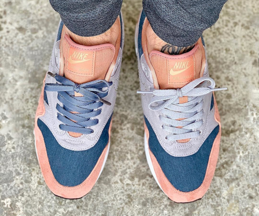 La Nike Air Max 1 PRM ID By You Pinned Swoosh en 10 images