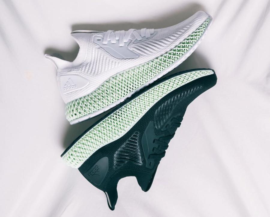 Adidas Alphaedge 4D 2 FTWR White & Core Black Carbon (1)