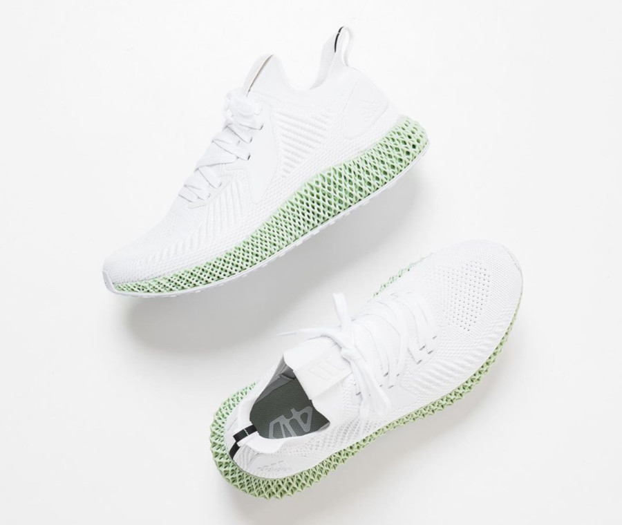 Adidas Alphaedge 4d blanche ftwr white EF3454