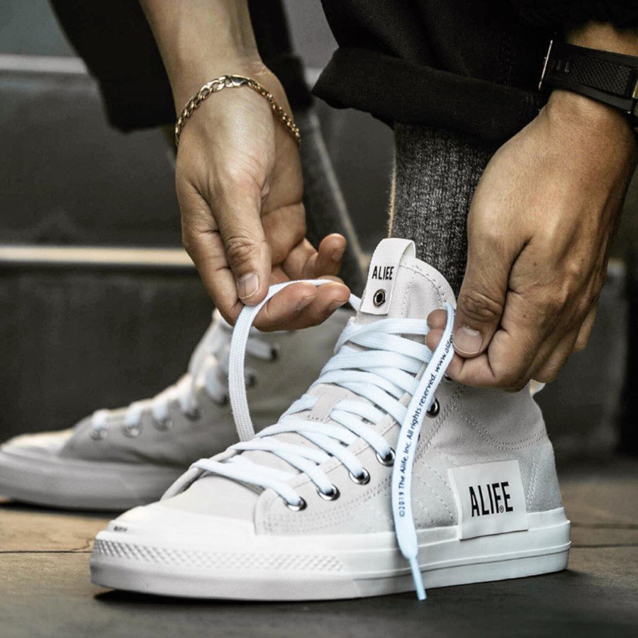 Adidas Consortium Nizza Hi Alife Raw White G27820