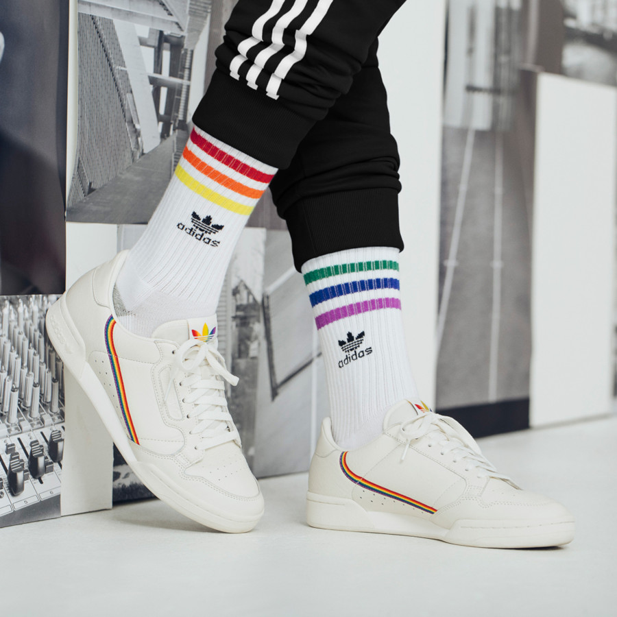 Adidas Continental 80 Pride 'Rainbow Stripes' (1)
