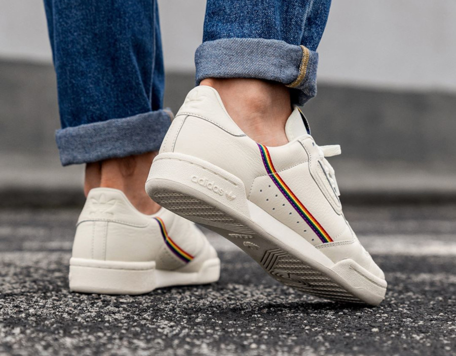 Adidas Continental 80 Pride 'Rainbow Stripes' (2)