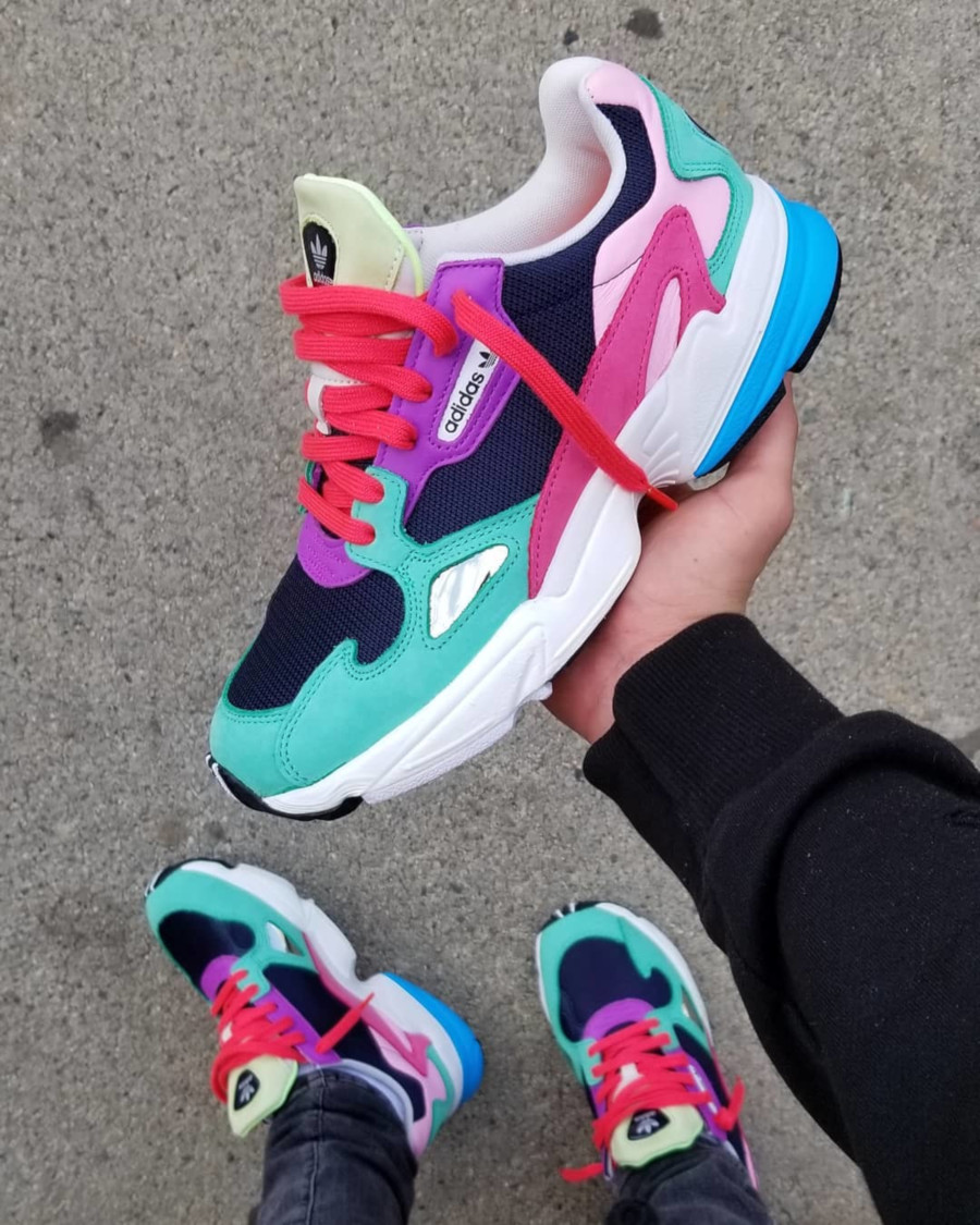 Adidas Falcon W Easter Multicolor CG6211
